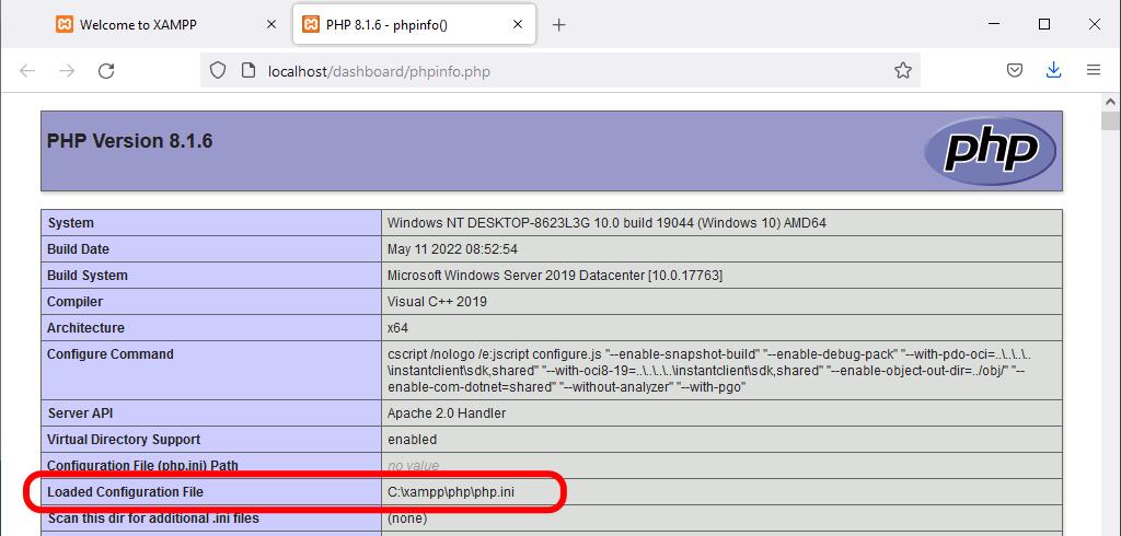 Configuración de Apache y PHP  PHP  Bartolomé Sintes Marco