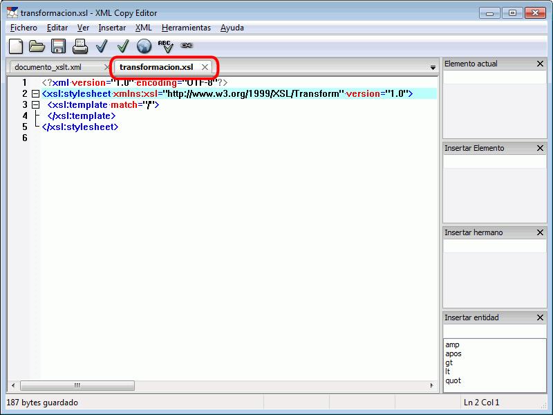 XML Copy Editor. XML. Bartolomé Sintes Marco